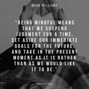 mark williams mindfulness quote